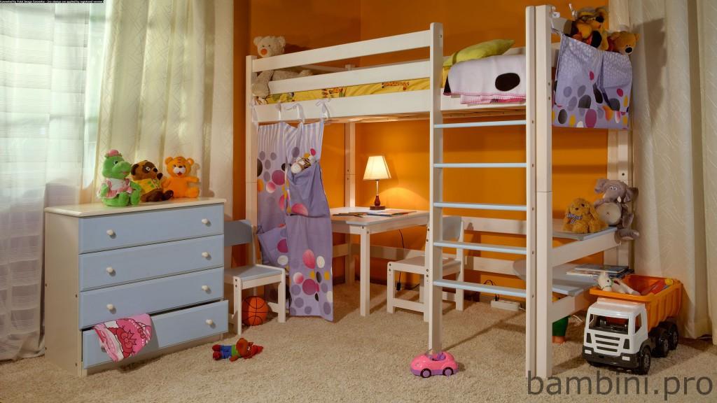 Купить кровать чердак недорого в интернет магазине